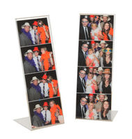 Photo Booth Frame 2x6 acrylic picture frames, plexiglass menu sign holder
