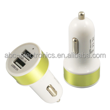 mix colors alibaba mobile phone dual usb qc 3.0 car charger usb for iphone