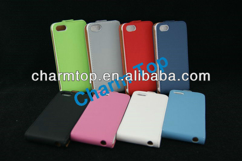 Hot Selling Leather Flip Case For iPhone5 5G
