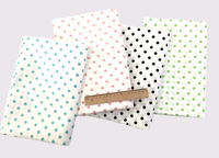 Printed Polka Dot Cotton Fabric for Crib Fitted Sheet