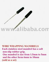 wire rapping mandrel jewellery tools