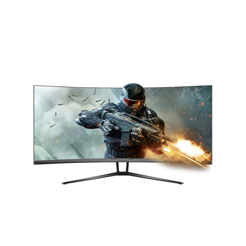 R1800 35inch 2K 200Hz curved led gaming monitor Free sync  high resolution monitor