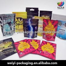 SAFETY FOOD GRADE 3g bugged out herbal incense bag