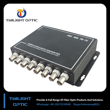 digital video fiber optic converter