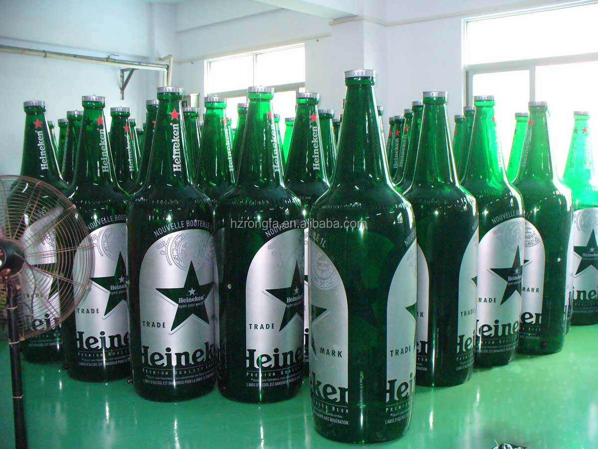 pvc inflatable bottle, advertising bottle model, inflatable beer bottle