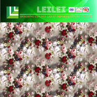 Floral Printed Digital Printing In Cotton Fabric For Garment