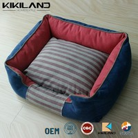 American Style Denim Dog Bed Warm Dog Bed