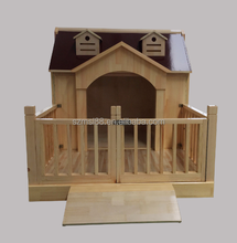 cheap wholesale luxurious large waterproof outdoor wooden dog kennel