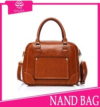 New Arrival brown case bag Fashion Women's Leisure handbags manufacturer be kind to customize handbags from China