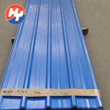 Online product selling black corrugated metal roofing steel sheet