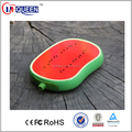 New arrival Cute fruit shape restaurant power bank with rohs