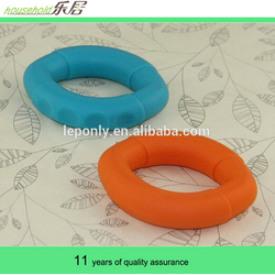 Food grade round shape silicone hand grip ring for fitness(strength training)