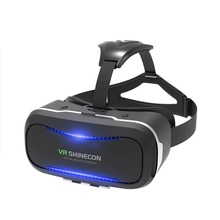 VR SHINECON 2018 Promotion Professional Top Quality Virtual Reality Cardboard VR 3D Glasses for Japan Full HD Video
