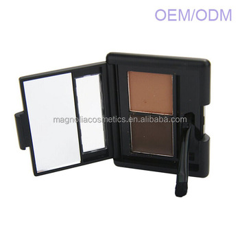 2 colour Waterproof brow powder makeup for cosmetics