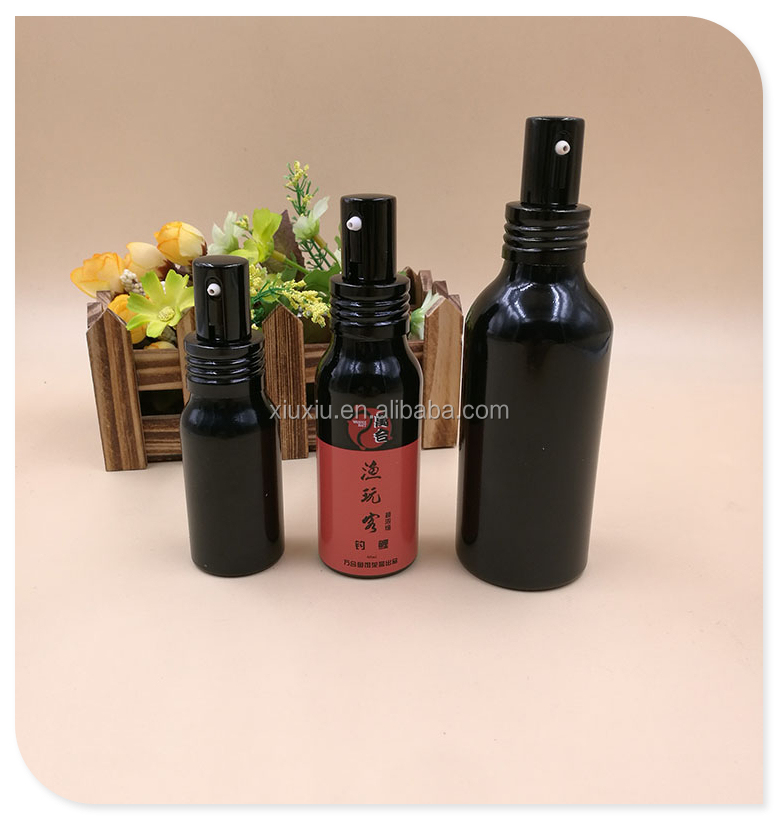 aluminum bottle 400ml black aluminum bottle