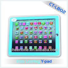 iPad toys for kids, learning english machine, colored screen ipad for kids