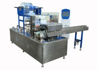 Handkerchiefs paper packaging machine