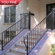 Modern Classic Wrought Iron Railings Metal Railing Outdoor Stairs