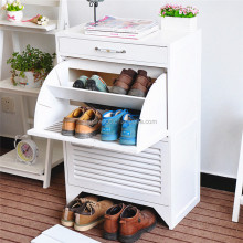 High Quality solid paulownia wooden shoe Storage Cabinet for hot sales