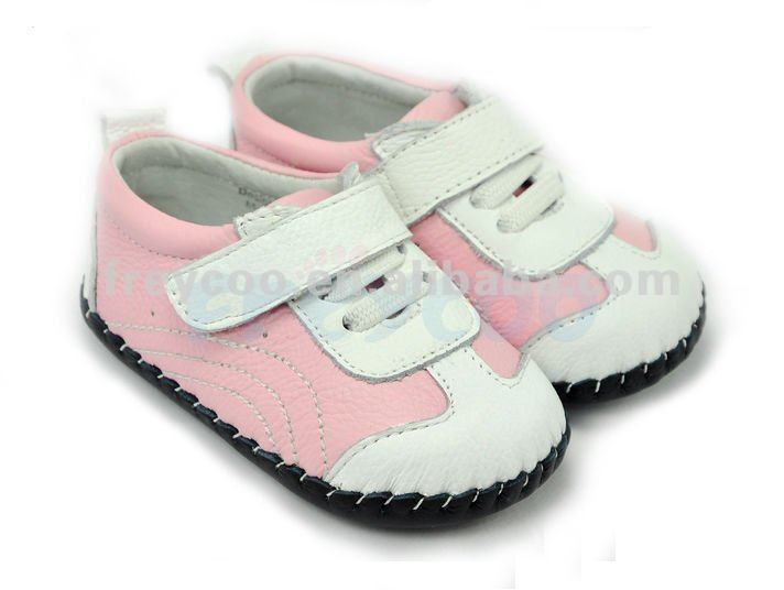 Style fashion leather baby shoes 2012