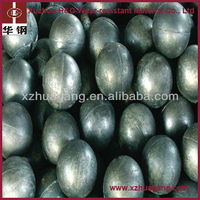 High chrome 60-65HRC iron cast grinding steel balls low wear rate