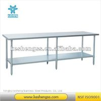 stainless steel work table/stainless steel worktable