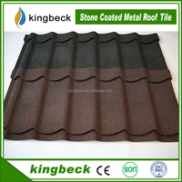 stone coated steel roofing tile stone coated zinc roof sheet