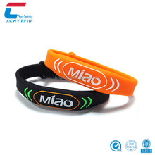 Hot-sale New Design Promotional Gift Smart Silicone Rfid Wristband