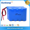 Hot sell SUNB approved 18650 3000mah 14.4v electric bus rechargerable lithium ion battery pack