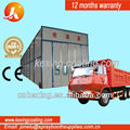 2014 purchasing bus spraying painting booth and painting oven