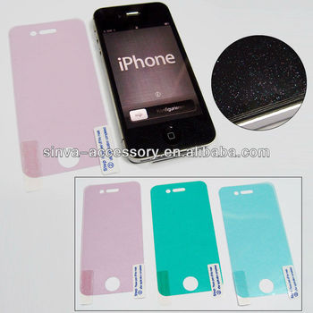 Brand New Diamond Sparkling Glitter Screen Protector for Apple iPhone 4s 4
