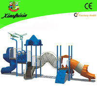kids plastic slide play set