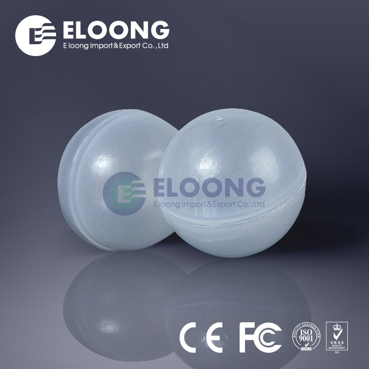 Hollow Sphere Floating Ball 2mm Thick Wall Plastic Clear Transparent Hollow Ball For Chemical Industry