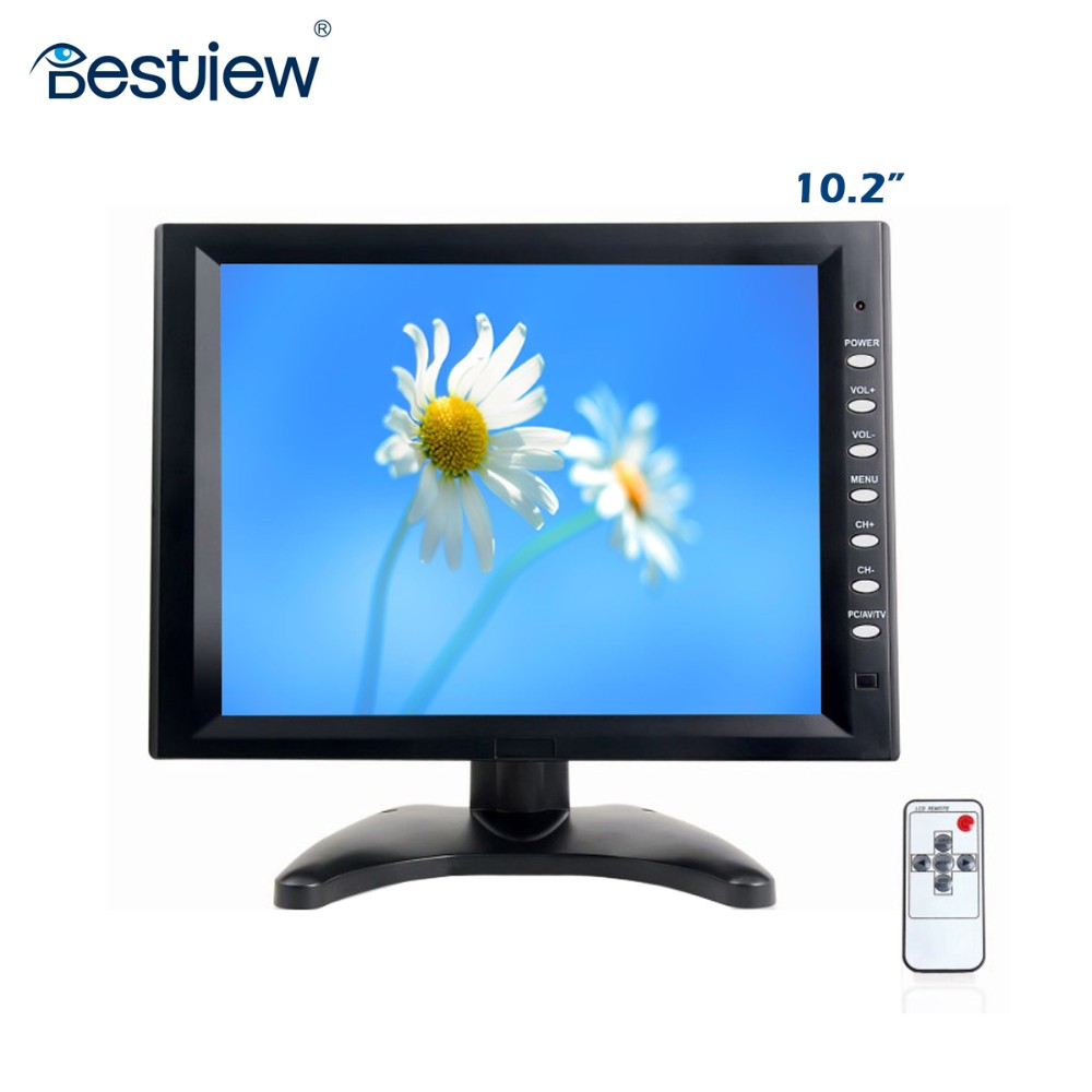 "Most popular 9.7"" / 10inch IPS panel vga hdmi usb touchscreen tft lcd monitor with 1024x768 native resolution"