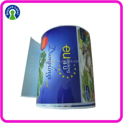 Custom Adhesive Label Sticker Printing , Roll Waterproof Label for Frozen Food