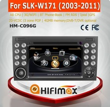 Hifimax car dvd audio navigation system FOR Benz SLK- W171 2003-2011 WITH A8 CHIPSET DUAL CORE 1080P V-20 DISC WIFI 3G DVR