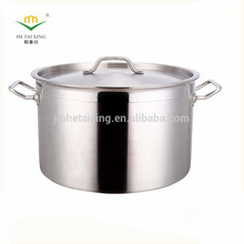Hot sale kitchen Double wall Stainless steel milk boiling pot with steamer