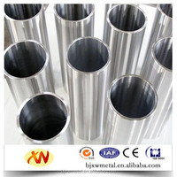 Gr1 Gr2 Gr5 Gr9 seamless titanium tube/pipe in stock ASME SB338