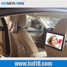 10.1 inch HD Dual-Core Android OS. WIFI 3G touch screen Headrest Car Pad, automobile rearseat Entertainment System monitor