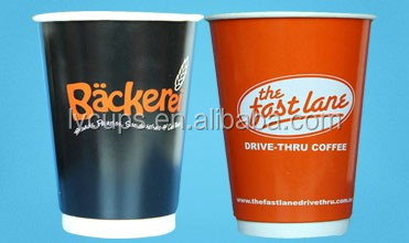 12 oz cold eco friendly double wall paper cup