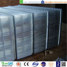 Galvanzied welded wire mesh fence panels in 6 gauge
