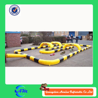 Mobile Giant inflatable maze race game for sale