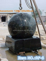RF-6 black marble rolling ball water fountain