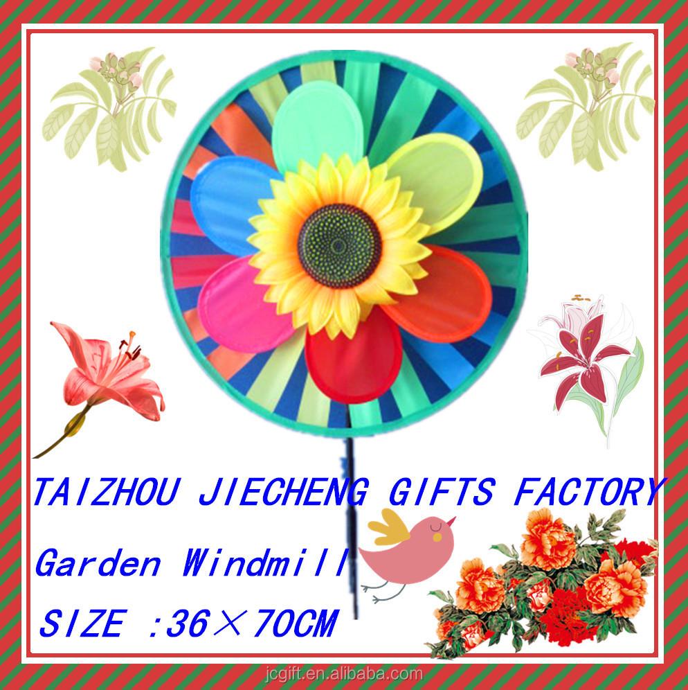Molino de viento decoracion jardin molinete ni os for Molinos de viento para jardin