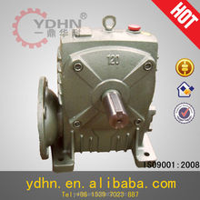 WPDA flanged mount worm transmission gear box Reduction gear electric motor speed reducer