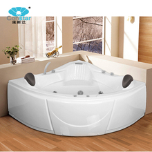 Luxury Whirlpool Massage Bathtub With Stainless Steel Frame