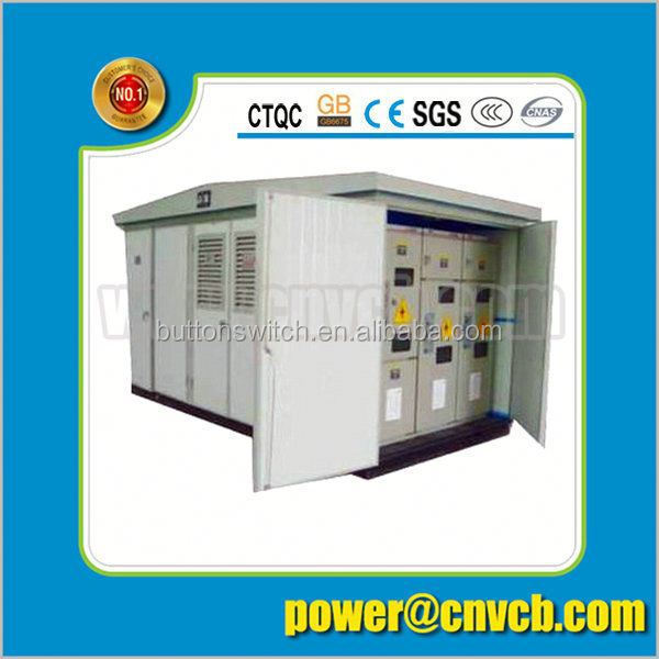 YB Series Prefabricated 33kv /11 kv electrical substation 13kv box substation alibaba
