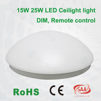 2015 new lobby ceiling led light led ceiling light 85lm SMD PF0.9 dimmable 11inch 15w 25w CRI80 whiteled ceiling lamp fixtures