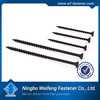 Made in china Manufacturer black twinfast thread drywall self drilling tapping screw
