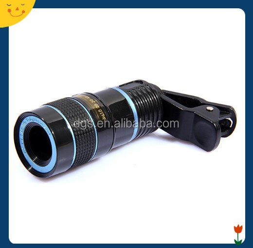 Factory price for camera lens cover for mobile phone 8X Zoom cell phone camera lens